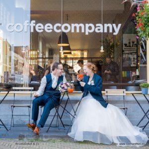 bruidsboeket coffee company Gerhard Nel Fotografie